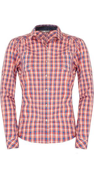 The North Face W's L/S Plaid Shirt Clear Lake Blue Plaid